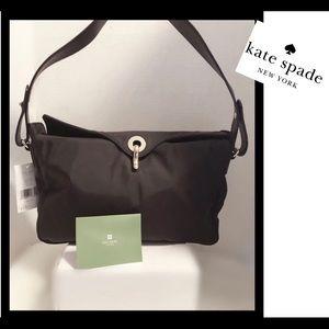 """Kate Spade Black""""Gillen"""" Clinton street hobo bag"""
